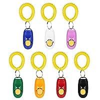 Anself Lot de 7Clicker Training cliquets Clicker pour chien chat animal Ink. Bracelet