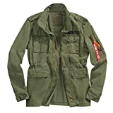 Alpha Industries Herren Jacken / Übergangsjacke Huntington olive 2XL
