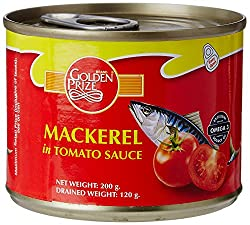Golden Prize Mackerel in Tomato Sauce, 200g