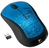 Logitech M310RF Wireless Laser beidhändig Indigo–Maus (RF Kabellos, Büro, Laser, Laptop, beidhändig, indigo)
