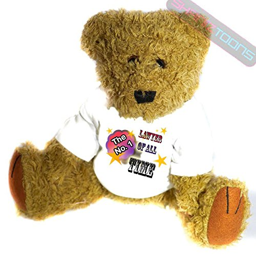 No1. Numero uno Lawyer Gift Teddy Bear for Best Lawyer...