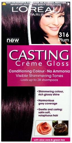 L' Oreal Paris casting creme Gloss Hair Colourant 316prugna