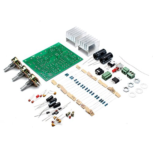ROUHO 12V 30W DIY Tda2030A Dual Track Power Amplifier Board Kit - Line-spannung-track