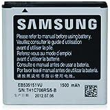 Samsung Original Akkublock (Li-Ion, 1.500 mAh) EB535151VUCSTD (kompatibel mit Galaxy S Advance)
