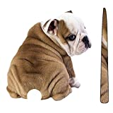 ARDUTE Kawaii Cartoon Funny Moving Tail Tier Hund Aufkleber reflektierende Aufkleber Auto Scheibenwischer Aufkleber Heckscheibe Aufkleber