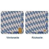Bierdeckel / Untersetzer Bayern-Raute 50 Stück 4500-50