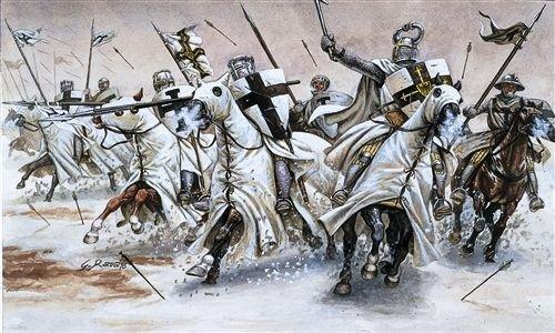 Italeri 6019 - teutonic knights scala 1:72