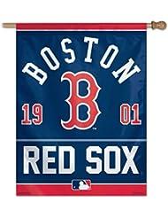 MLB Boston Red Sox Drapeau extérieur vertical–69x 94cm (68,6x 94cm)