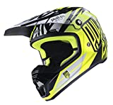 Casque cross Pull In 2017 Noir Jaune Fluo