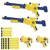 X-Shot - Dos rifles con dos pistolas de dardos x-shot (Colorbaby 42585)
