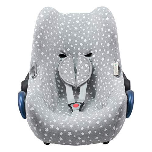 JANABEBE Housse pour Maxi Cosi Cabriofix (WHITE STAR)