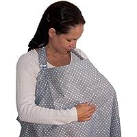 Dazoriginal Cubierta de Lactancia Capa Lactancia Cubre Pañuelo Lactancia GRIS