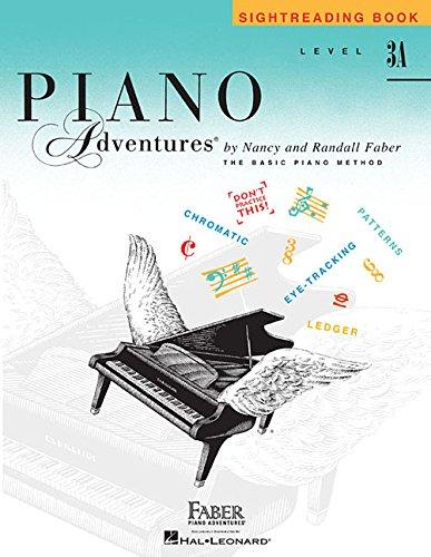 Level 3A: Sightreading Book - Piano Adventures por Nancy Faber