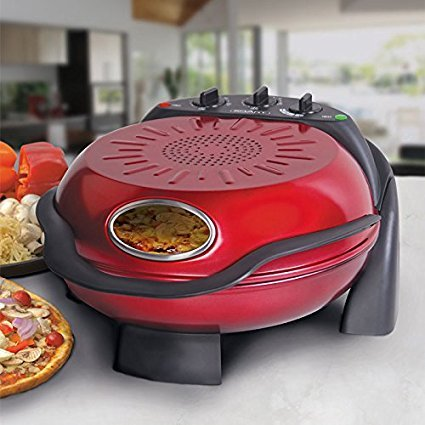 Smart Stonebaked Pizza Maker in Red