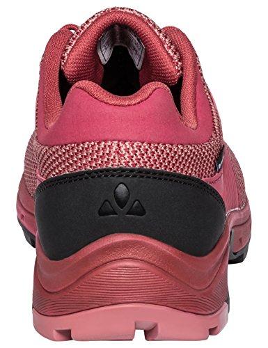 VAUDE Women's TVL Comrus STX, Scarpe da Arrampicata Basse Donna Rosso (Red Cluster)