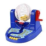 Sharplace Lustiges Bingospiel Lotterie Maschinen Spielzeug für Kinder Spiel Spaß