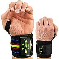 C.P. Sports Powerlifting Handgelenkbandagen 60cm extra lang Handgelenkbandage / Bänder / Bandagen Bodybuilding... preisvergleich bei billige-tabletten.eu