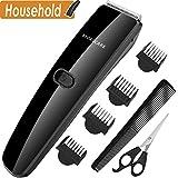 Haarschneider, Haarschneidemaschine für Männer Haarschneider schurlos, BROADCARE Komplettes Haarschneide set