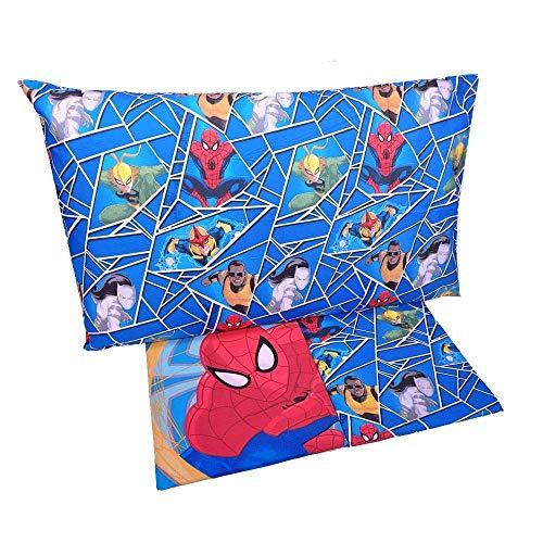 Disney completo lenzuola singolo spiderman blu
