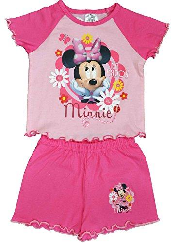 Disney - Pijama - Manga corta - para niña Rosa rosa 2 años