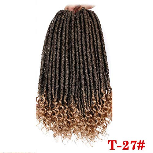 Crochet Braids 16 20 Zoll Soft Natural Soft Synthetic Hair Extension 24 - Natürliche Rote Göttin Kostüm Perücke