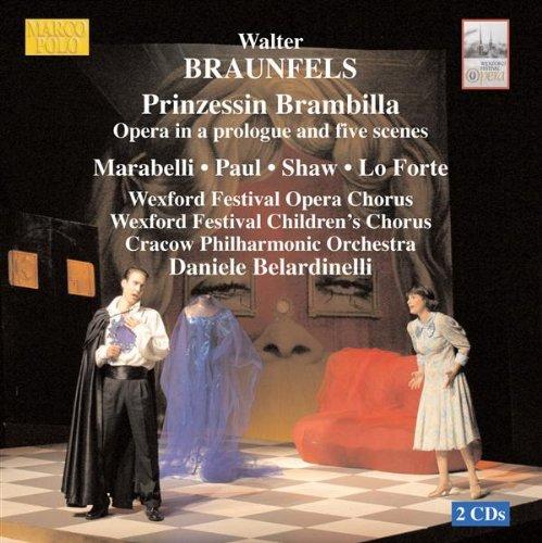 Prinzessin Brambilla: Scene 1: Hier die Brille schaut von magisch blauem Glase (Prince, Chorus, Claudio, Giazinta, Pantalone)