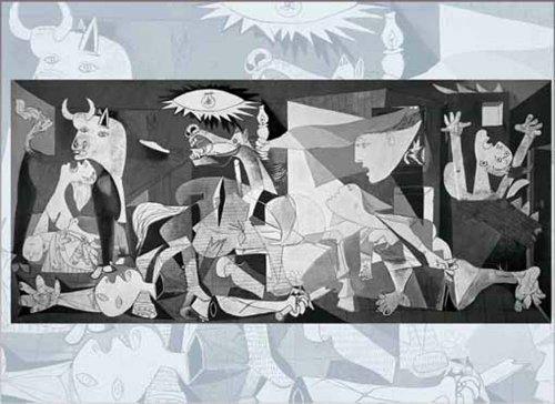 Editions Ricordi Gold - Picasso, Guernica, Puzzle da 250 pezzi