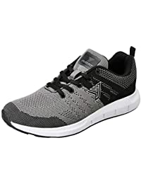 Fusefit Men's Vento Black and Grey Running Shoes