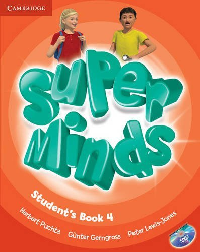 Super Minds Level 4 Student's Book with DVD-ROM by Herbert Puchta (2014-07-28)