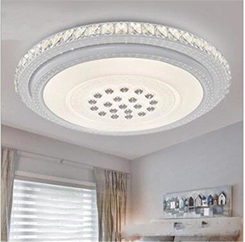 Deckenleuchten LED Kristall Runde Schlafzimmer Lampe 51 * 10cm (DREI Farben) -