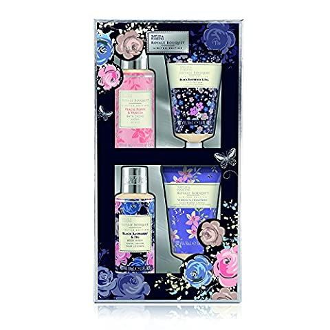 Baylis & Harding Royale Bouquet Midnight 4 Piece Set, 1 Stück