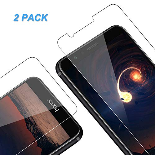 Vkaiy Panzerglas Schutzfolie für Huawei Honor 7X, [2 Stück] Ultra-Klar Glas 9H Härte 3D Touch Kompatibel Anti-Kratzen, Anti-Öl, Anti-Bläschen für Huawei Honor 7X