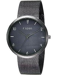 Fjord Analog Black Dial Men's Watch- FJ-3027-33