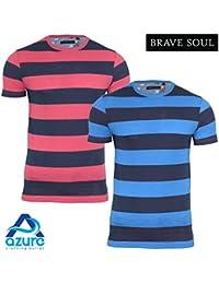 Brave Soul - T-shirt - Col Ras Du Cou - Manches Courtes - Homme