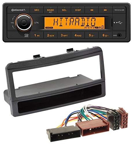 caraudio24 Continental TR7411U-OR 1DIN USB AUX MP3 Autoradio für Ford Focus Cougar Escort Fiesta Ablagefach