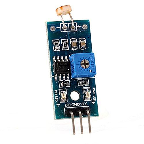 Neuftech® Resistenza modulo sensore di luce LM393luce EMP findlich Sensor per Arduino 3,3-5V
