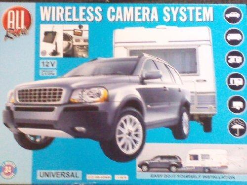 All ride 84460 Kit caméra de recul sans fil pour caravance 12 V
