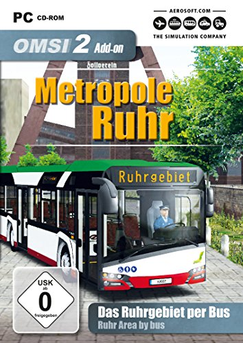 OMSI 2 - AddOn Metropole Ruhr - PC [Edizione: Germania]