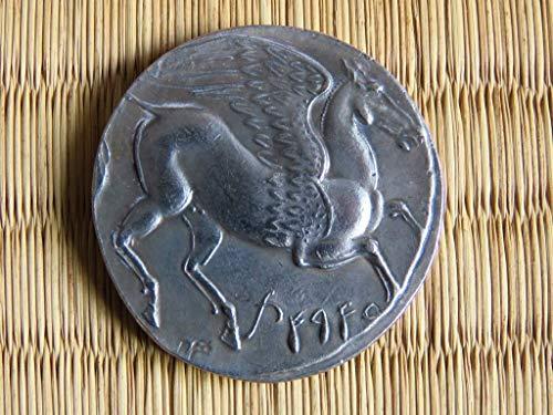 Drachma Das Alte Griechenland Athena Pegasus Tetradrachm Wunderbares Athens Griechisches S III BC Geschichte Archäologie Anthropologie Mythologie Legende Alte antike Sammlung Drachme Drachm