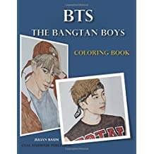 BTS. The Bangtan Boys. Coloring Book