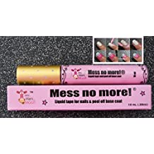 Mess No More! Liquid tape, líquido para decoloración en Nail art