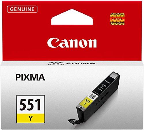 Ml Gelb Tintenpatrone (Canon CLI-551 Y Tintenpatrone 7ml, gelb)