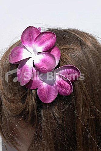 Gorgeous-vida-como-Frangipani-Plumeria-novia-pelo-clip