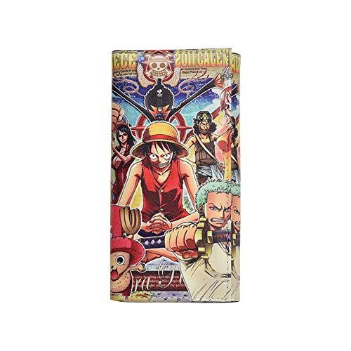 redCherry Anime One Piece Cartoon lange PU-Leder Geldbörse Clutch Coin Bag Fall(H01)