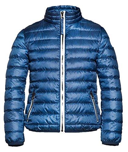 Reset Budapest Daunenjacke Kinder Jungen Light Down Jacket blau Blue Gr. 116 128 140 152 164 (116)