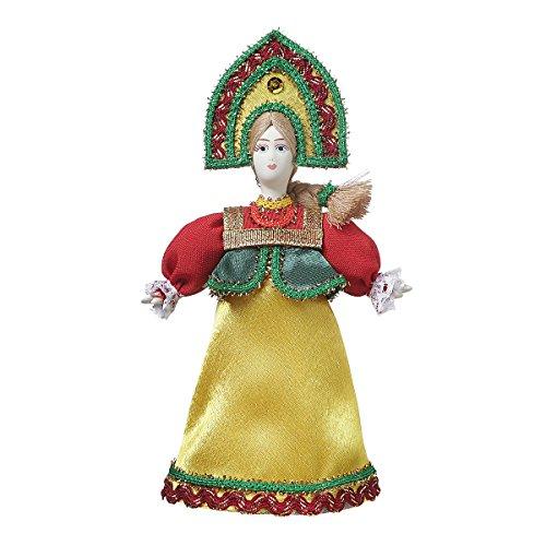 danila-souvenirs Russische handgemachte Porzellan Traditionelle Volkskostüm Puppe 19 cm ()