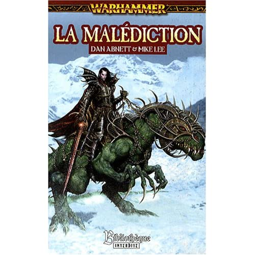Malus Darkblade, Tome 1 : La malédiction
