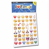 Boxer Emoji Stickers - Multi-Colour (Pack of 19 Sheets)