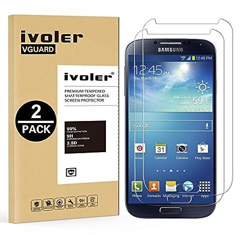 Film En Verre Trempe Samsung S4 - [2 pièces] Samsung Galaxy S4 Protection écran,