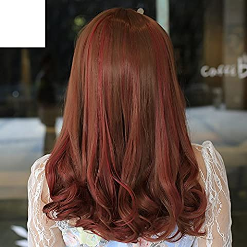 Gradient color scroll in the women/wig highlights PEAR volume-A